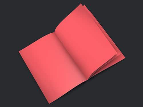 A4 Booklet Mockup