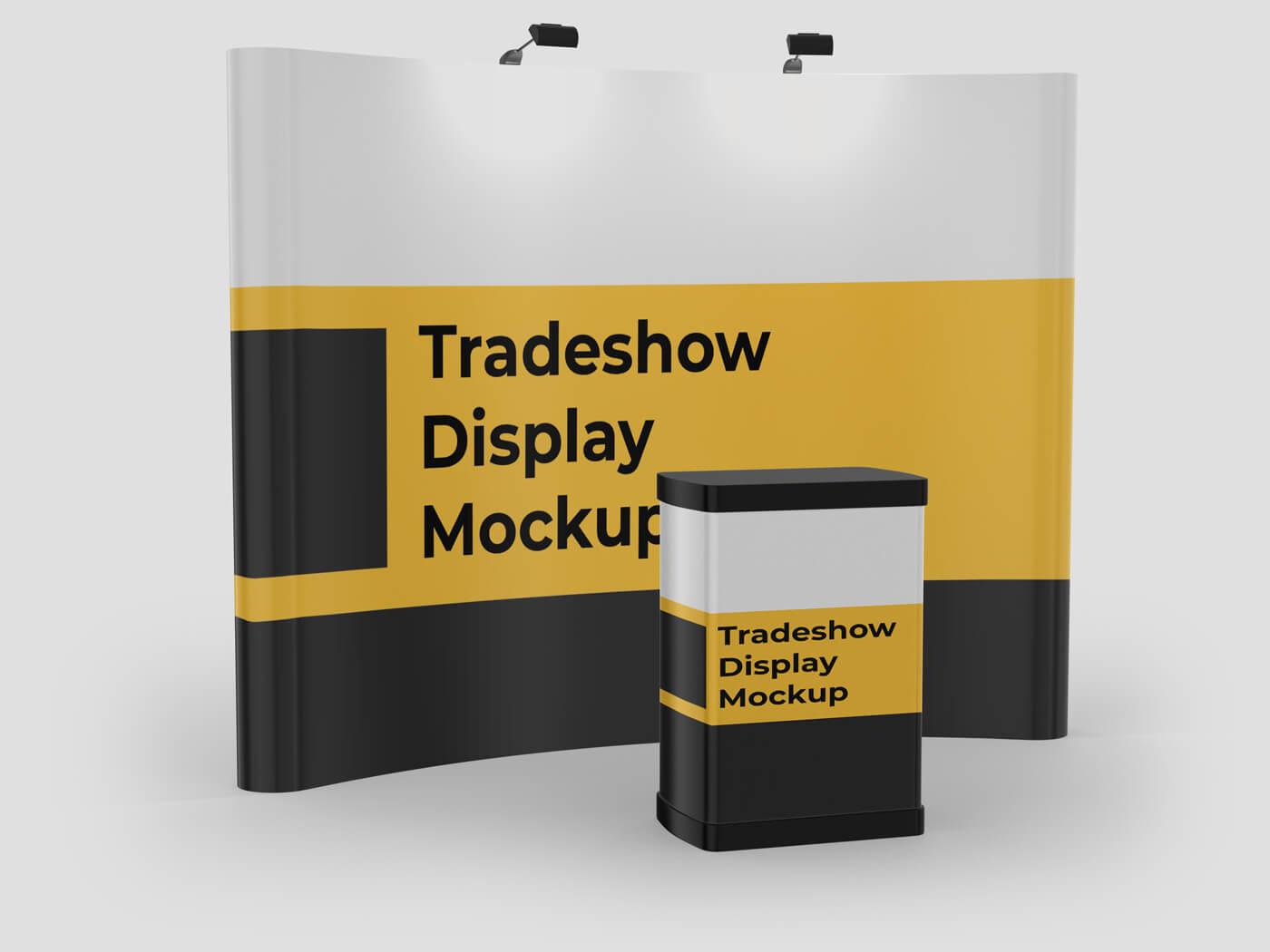 Tradeshow Display Mockup 1
