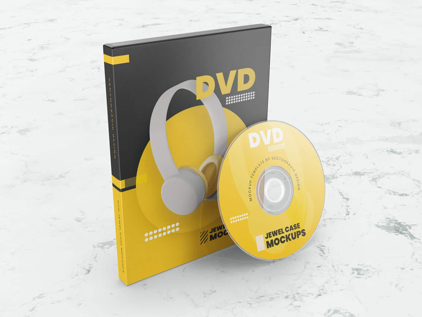 01 DVD Jewel Case Mockups