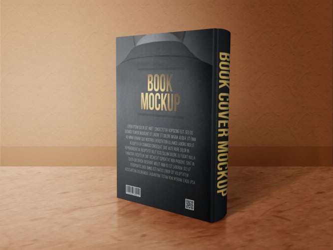 Book Mockup Back