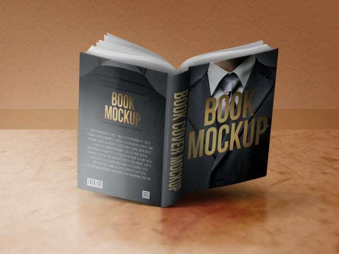Book Mockup Front & Back