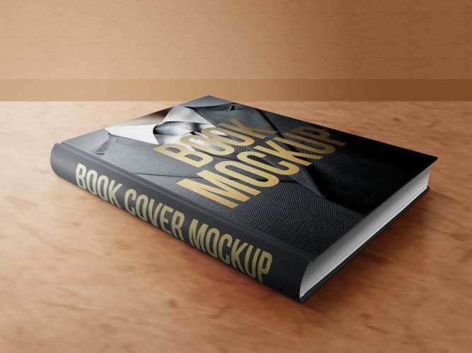 Book Mockup Front Laying