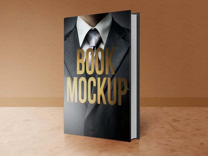 Book Mockup Front