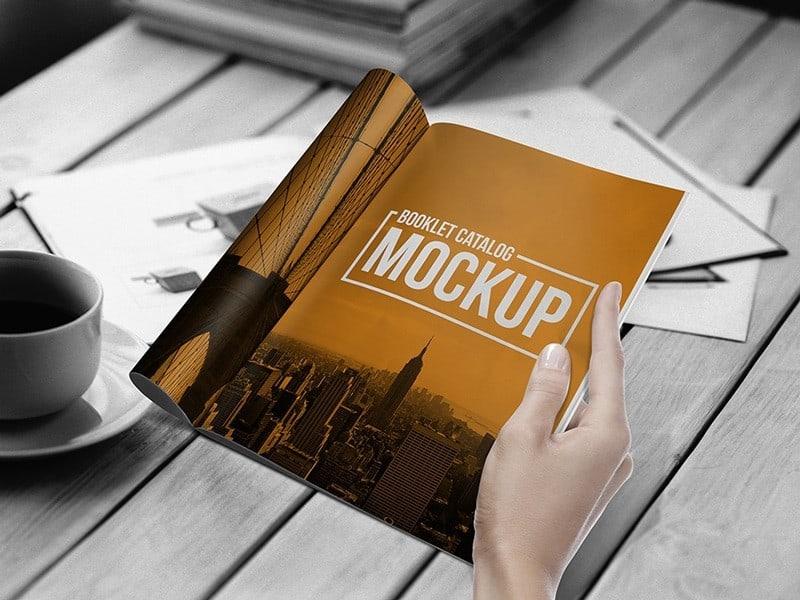 Booklet Mockup 11