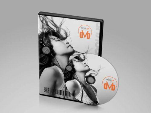 DVD Mockup