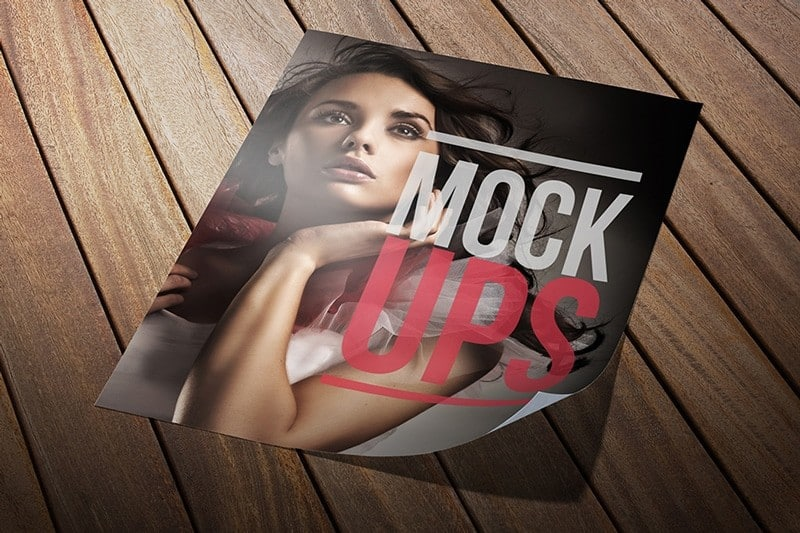 Double Sided Flyer Mockup