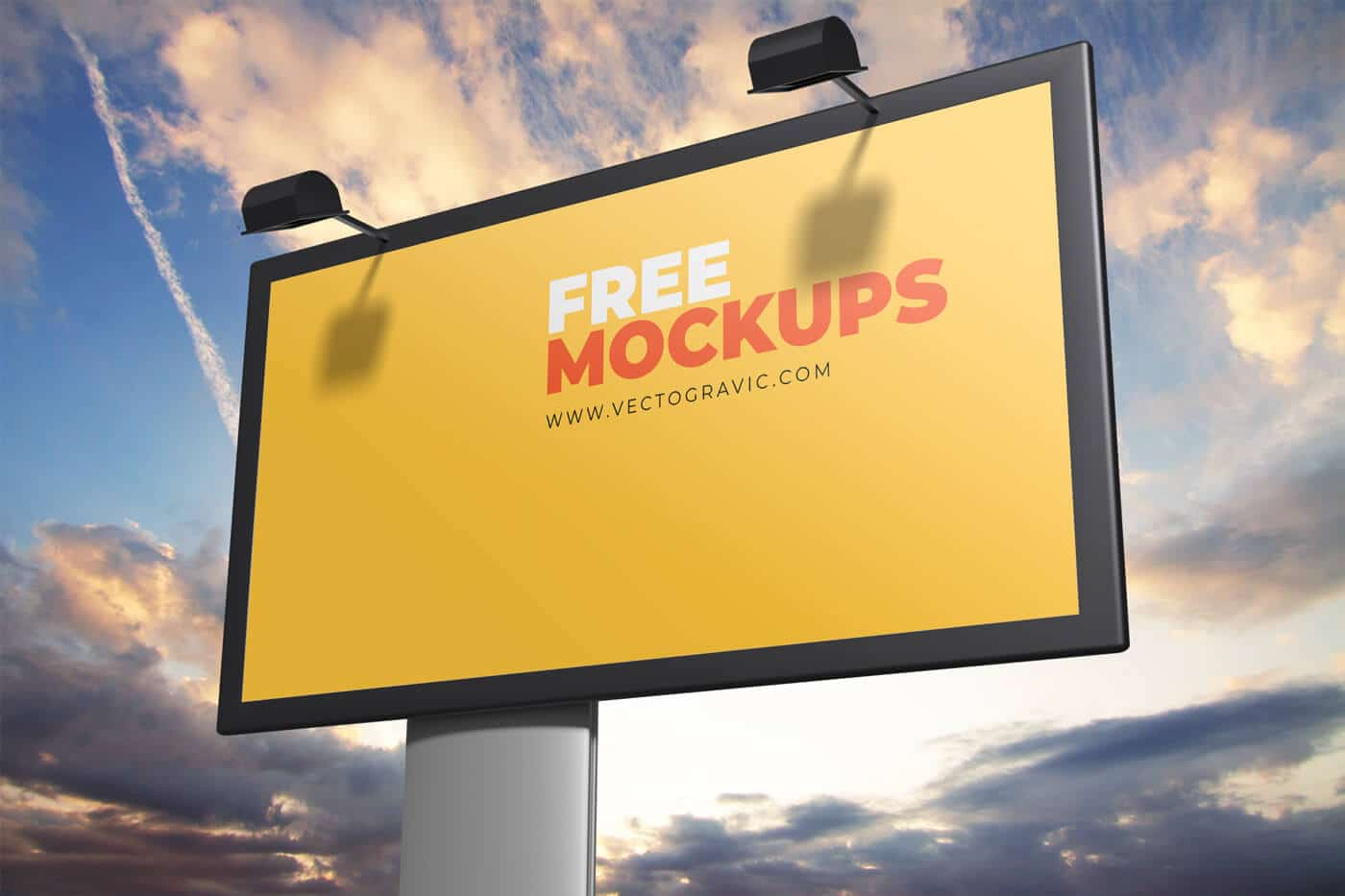 Free Outdoor Sign Mockups 01
