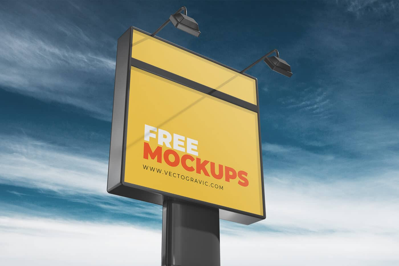 Free Outdoor Sign Mockups 02