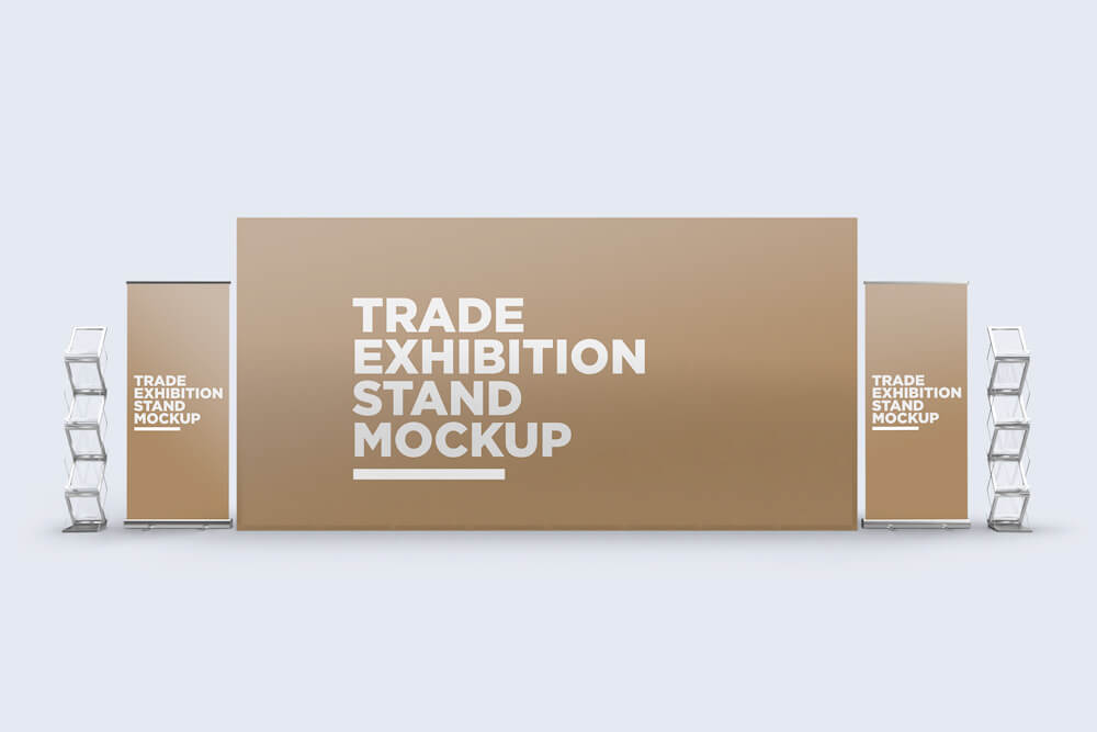 Trade Exhibition Stand Mockup 02