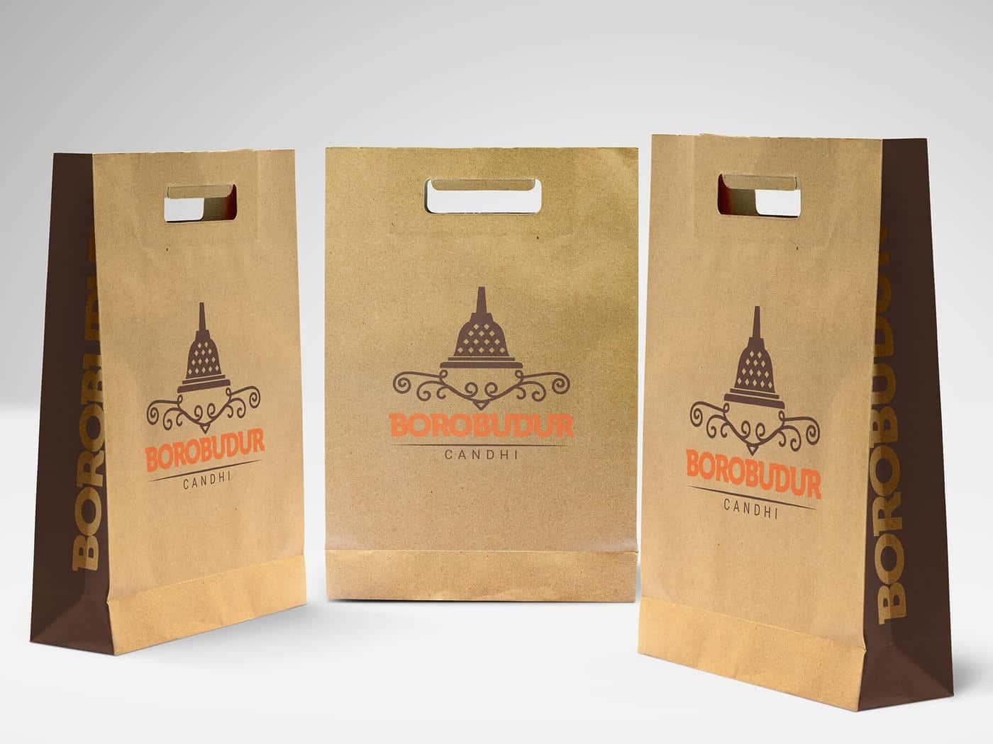 Various Shopping Bags Mockup