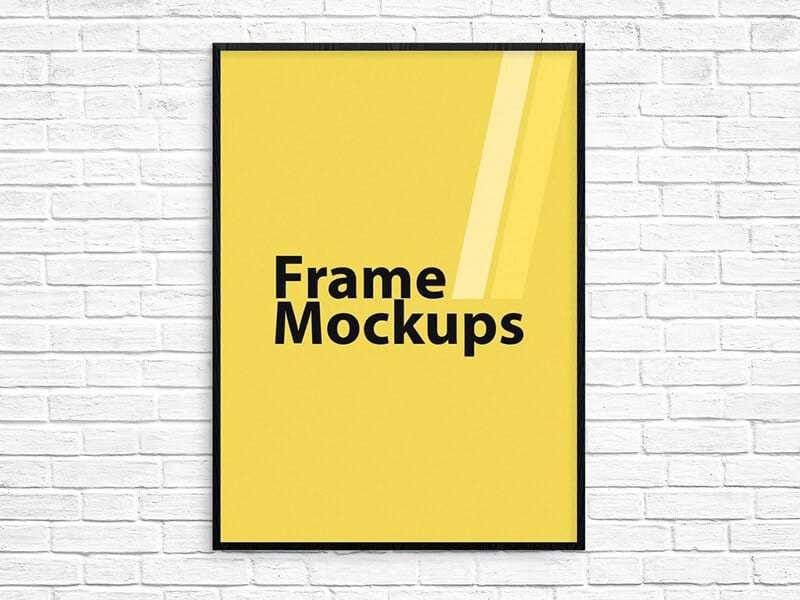 Poster Frame Mockup on Vectogravic Design – Vectogravic Design