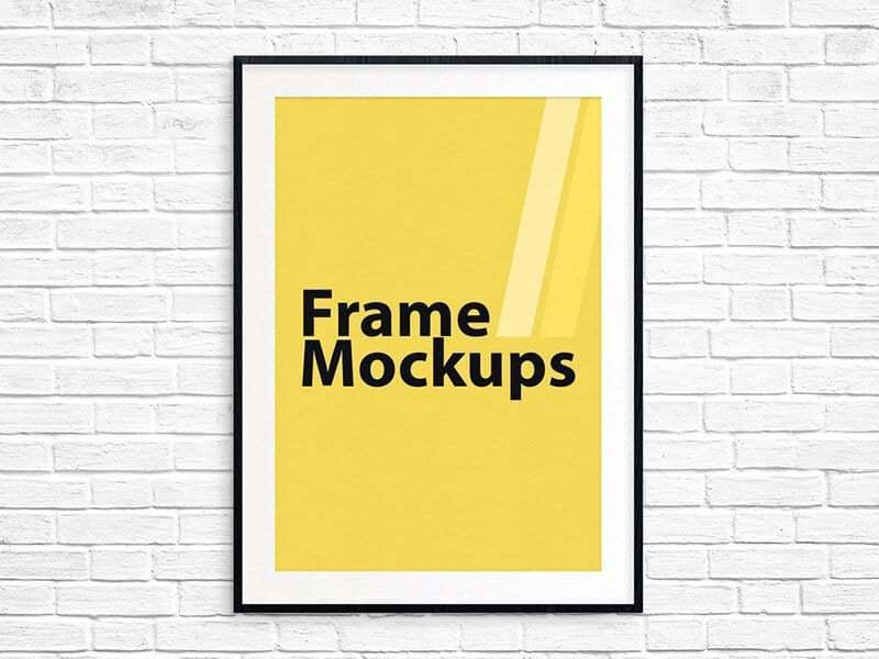 Frame Mockup For ANY SIZE Poster 02