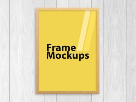 Frame Mockup For ANY SIZE Poster 04