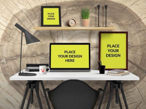 Desk Mockup