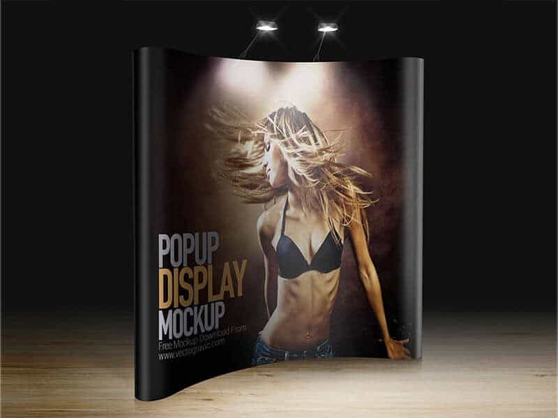 Tradeshow Display Mockup