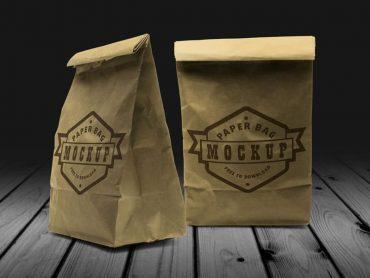 Paper Bag Mockup 02