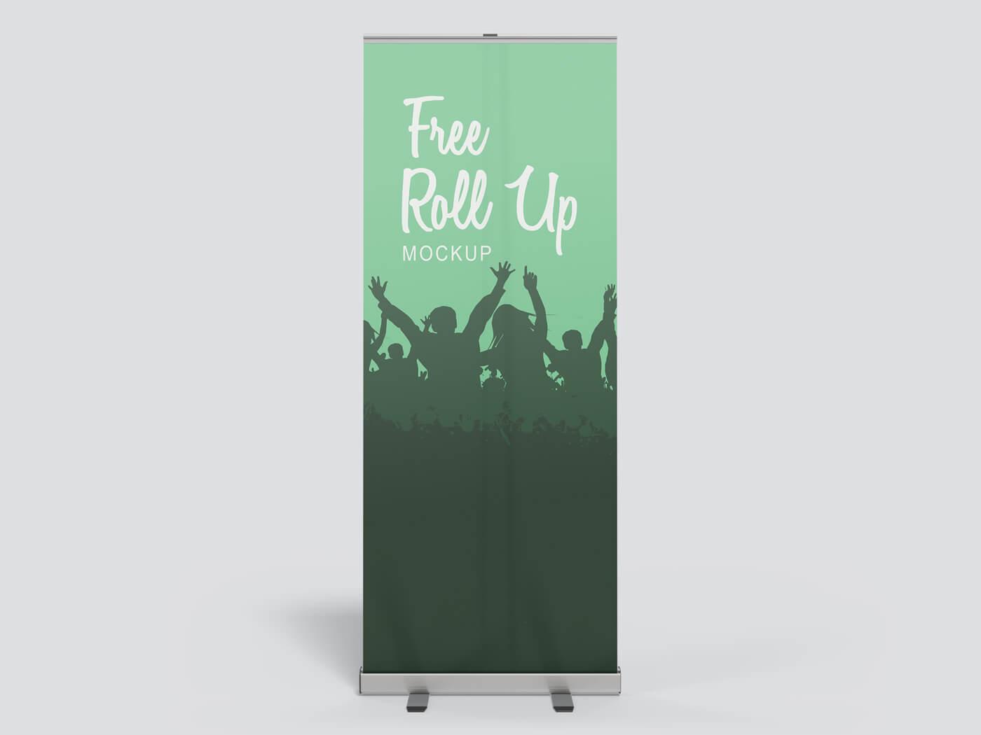 Roll Up Banner Mockup 01