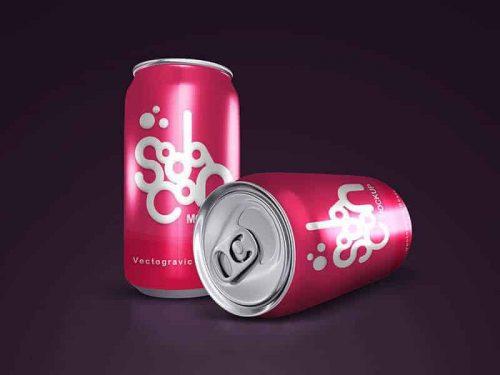 Soda Can Mockups