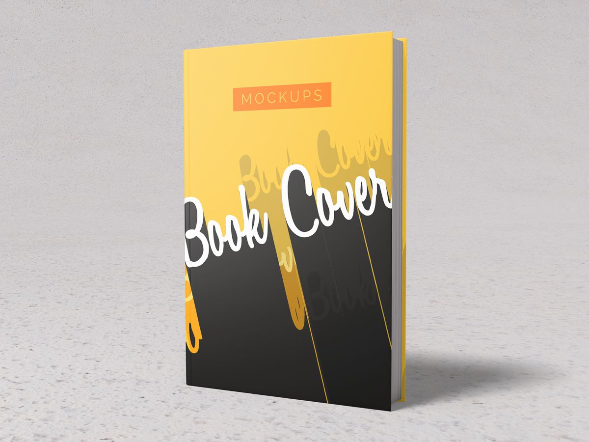 Hardcover Book Mockups 01