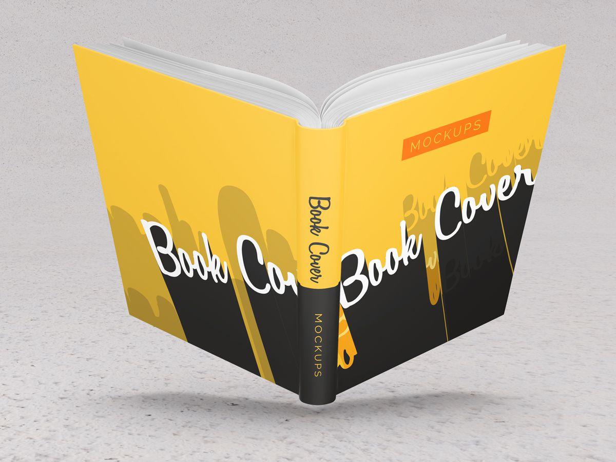 Hardcover Book Mockups 03
