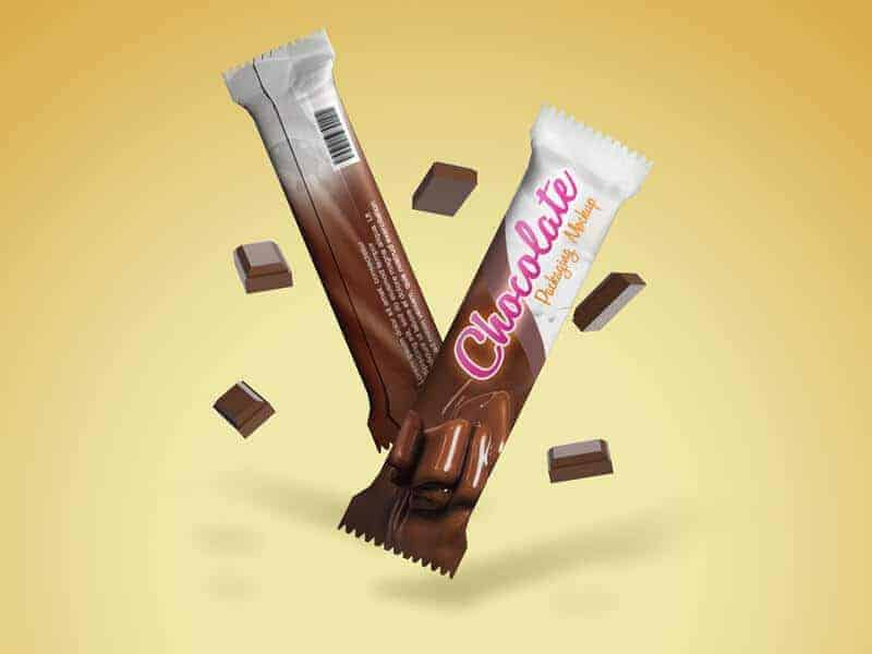 Free Chocolate Packaging Mockups