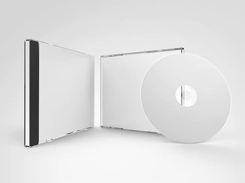 VCD Jewel Case Mockups