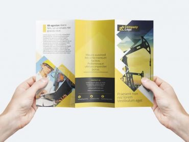 Free Trifold flyer Template