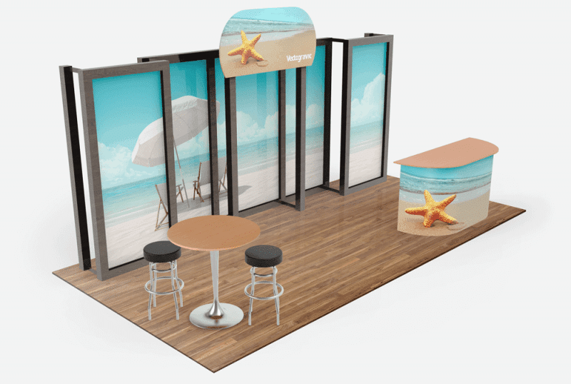 Exhibition Booth Mockup Free Download : Free tradeshow booth mockups from vectogravic design vectogravic