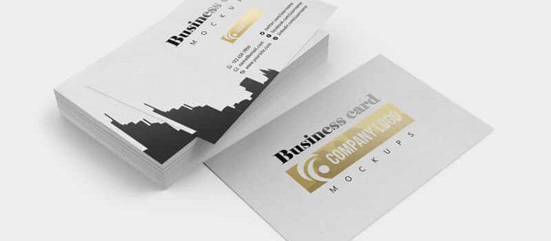 Business Card Mockups 01