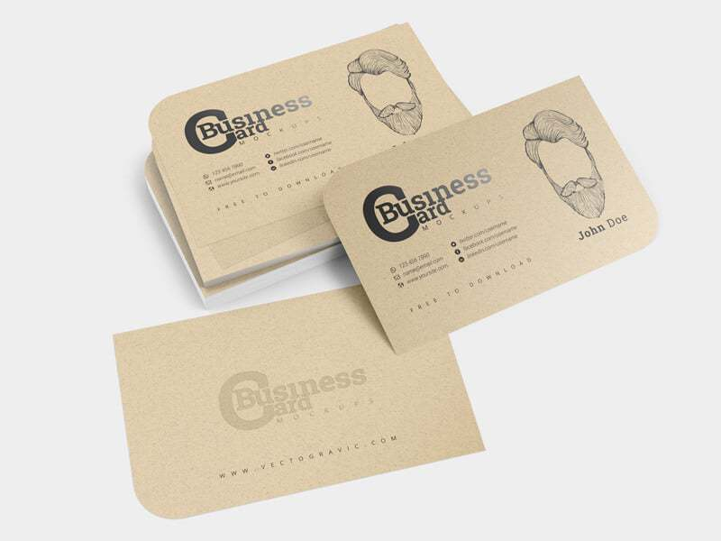 Business Card Mockups 03