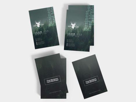 Various Business Card Mockups