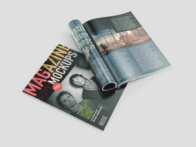 Free Magazine Mockups 02