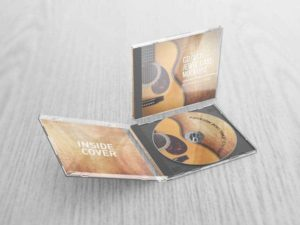 CD VCD Jewel Case Mockups