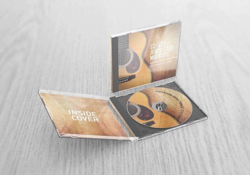 CD VCD Jewel Case Mockups v2
