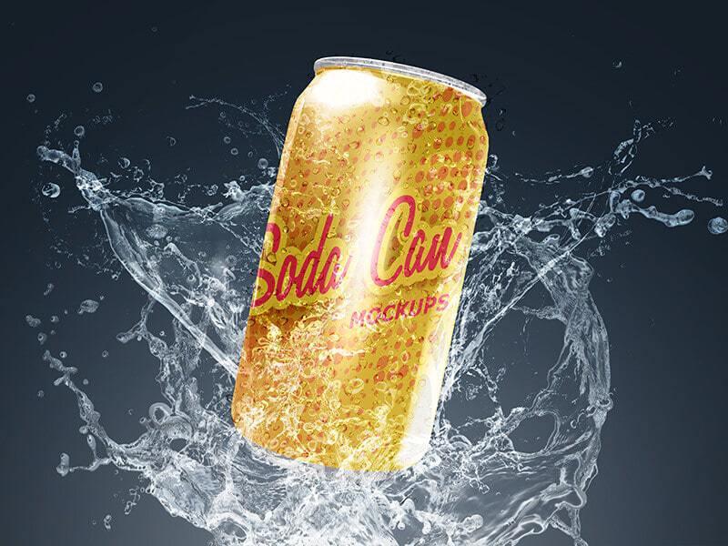 Soda Can Mockups 04