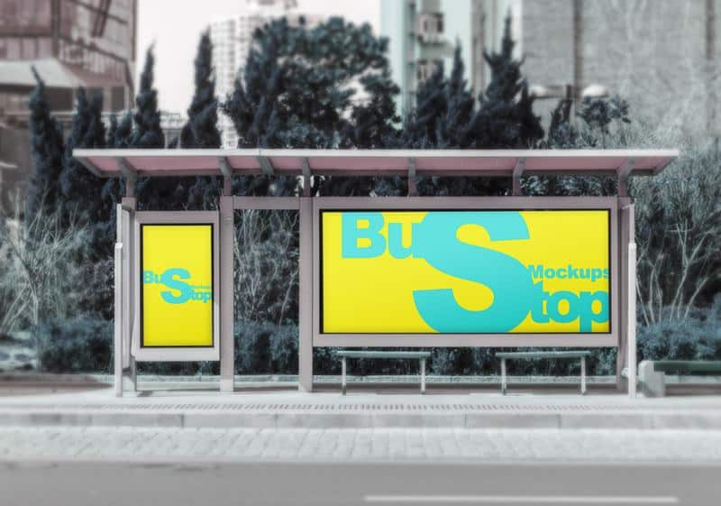 Display Sign and Billboard Mockups