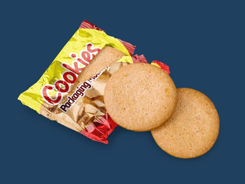 Free Cookies Packaging Mockups