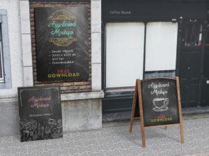 Signboard-Menu-Mockups