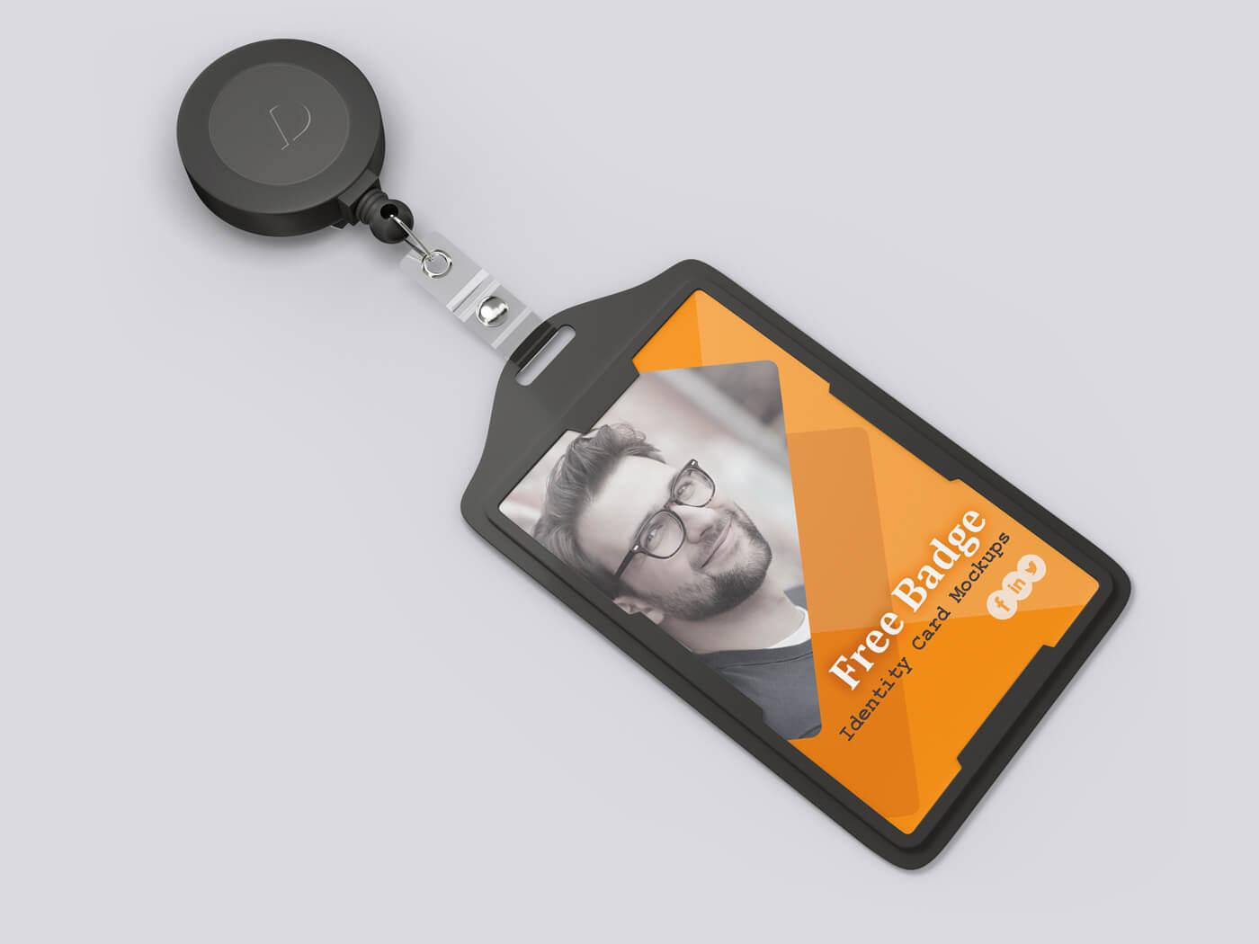 Badge Identity Card Mockup 01