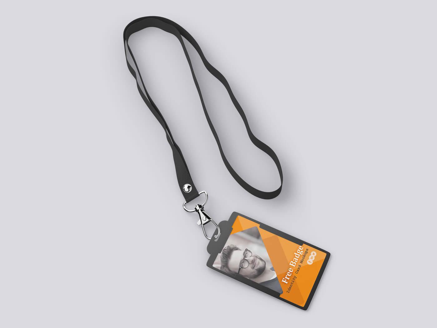 Badge Identity Card Mockup 02