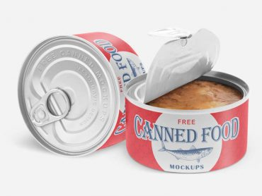 Canned Food Mockups