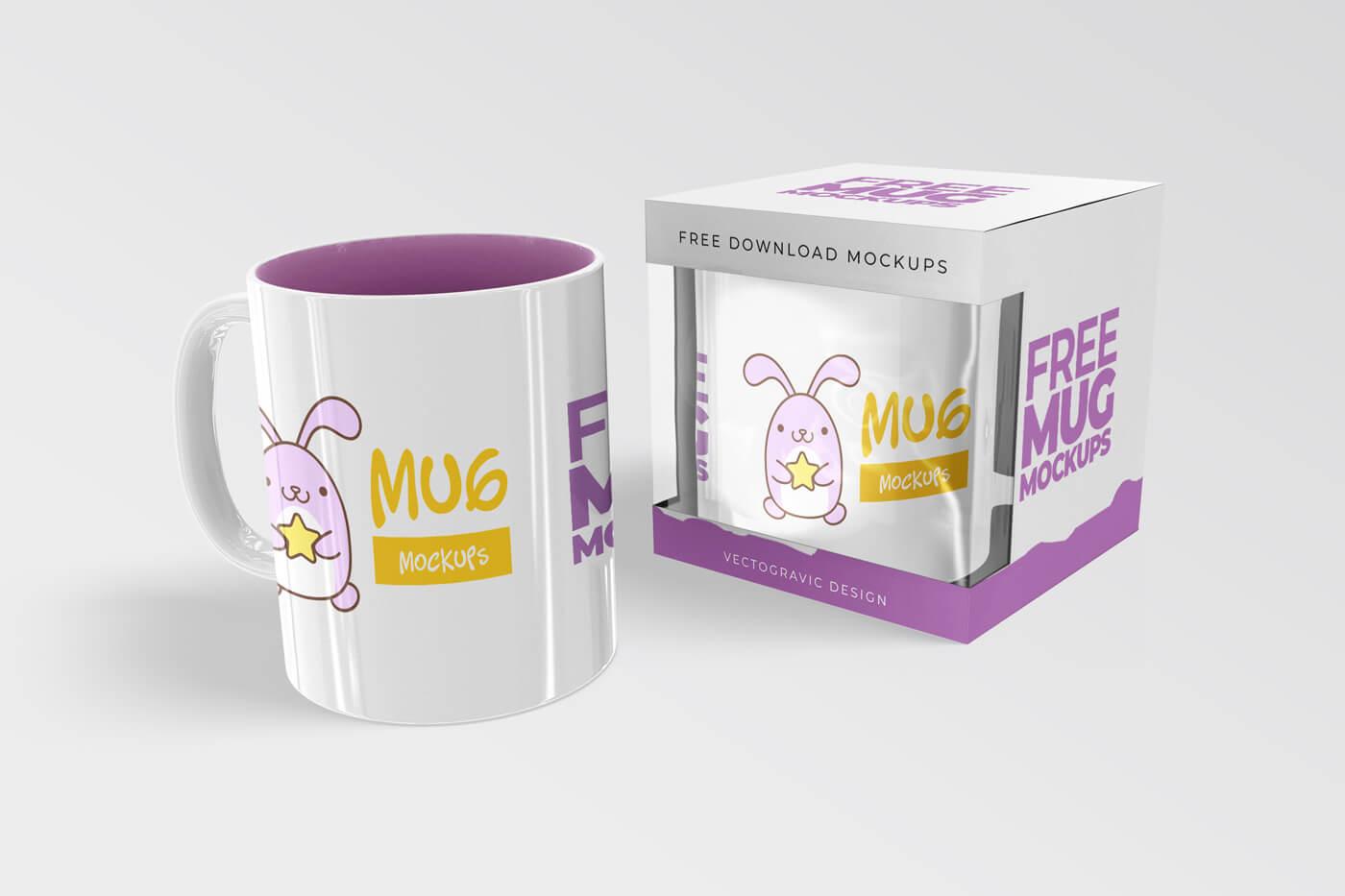 Free Mug Mockups 01