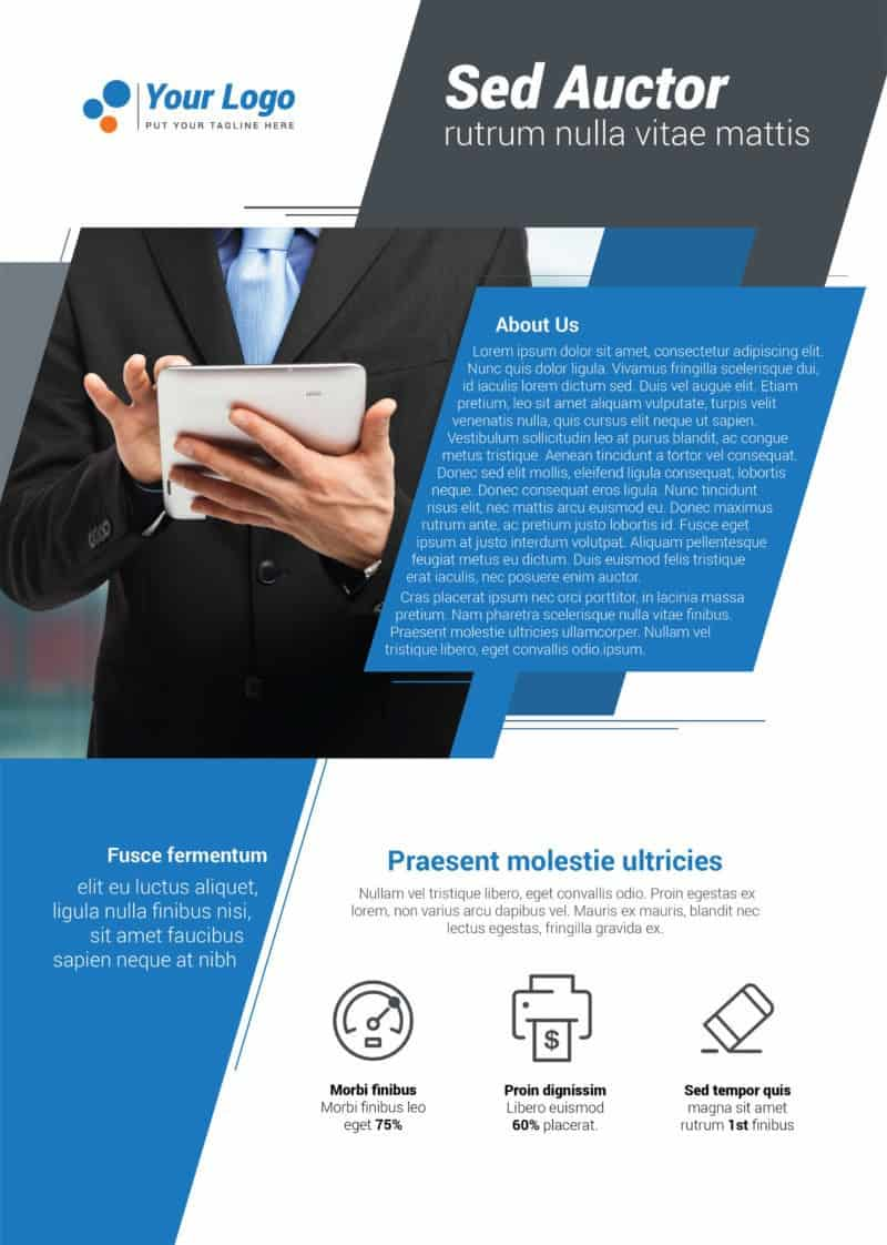 IT and Technology Flyer Template