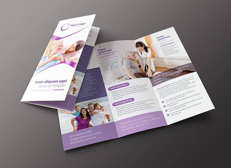 06 Family Services Brochure Template