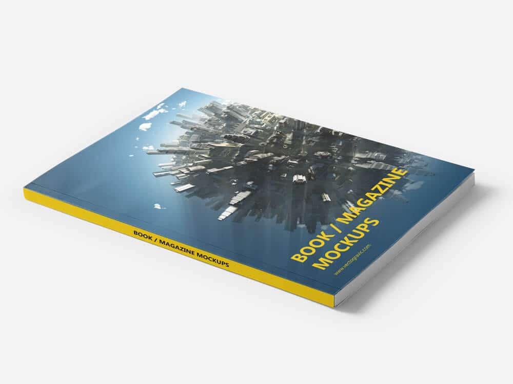 Book or Magazine Mockups 01
