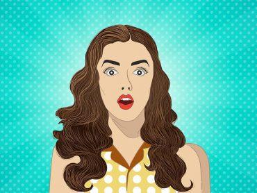 Retro Girl Illustration