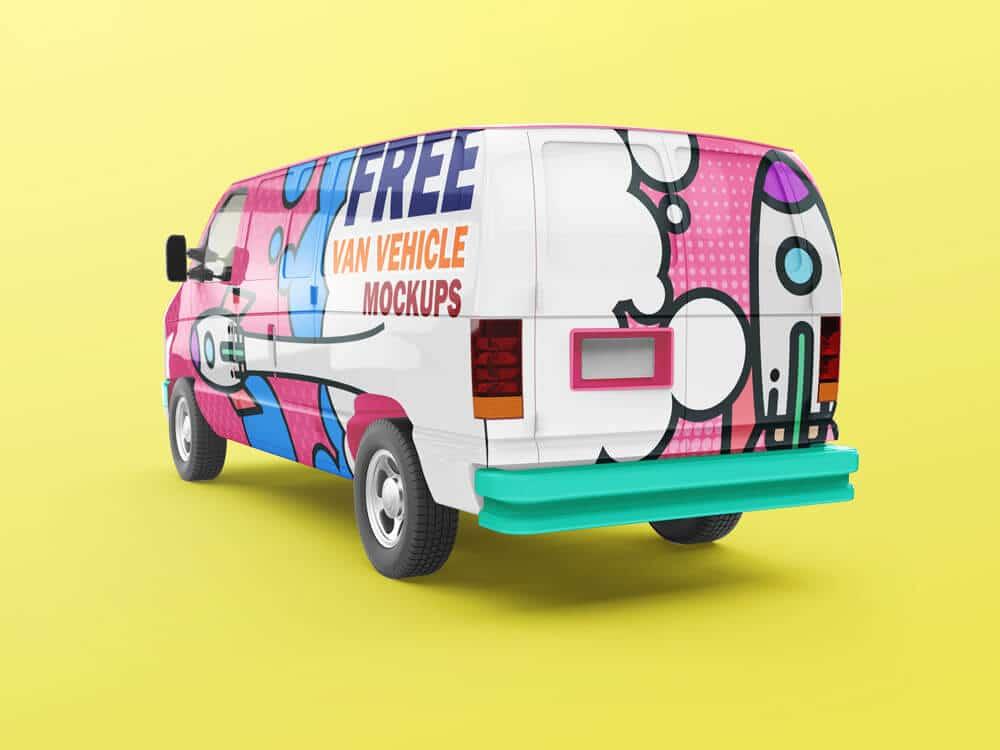 Van-Vehicle-Mockups