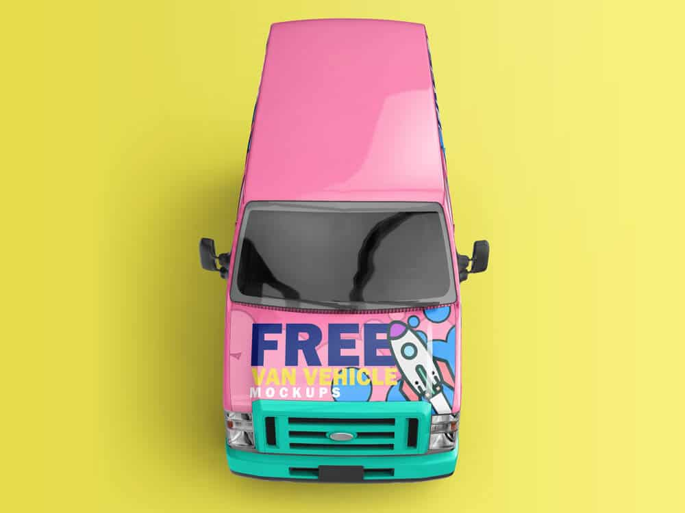 Van Vehicle Mockups