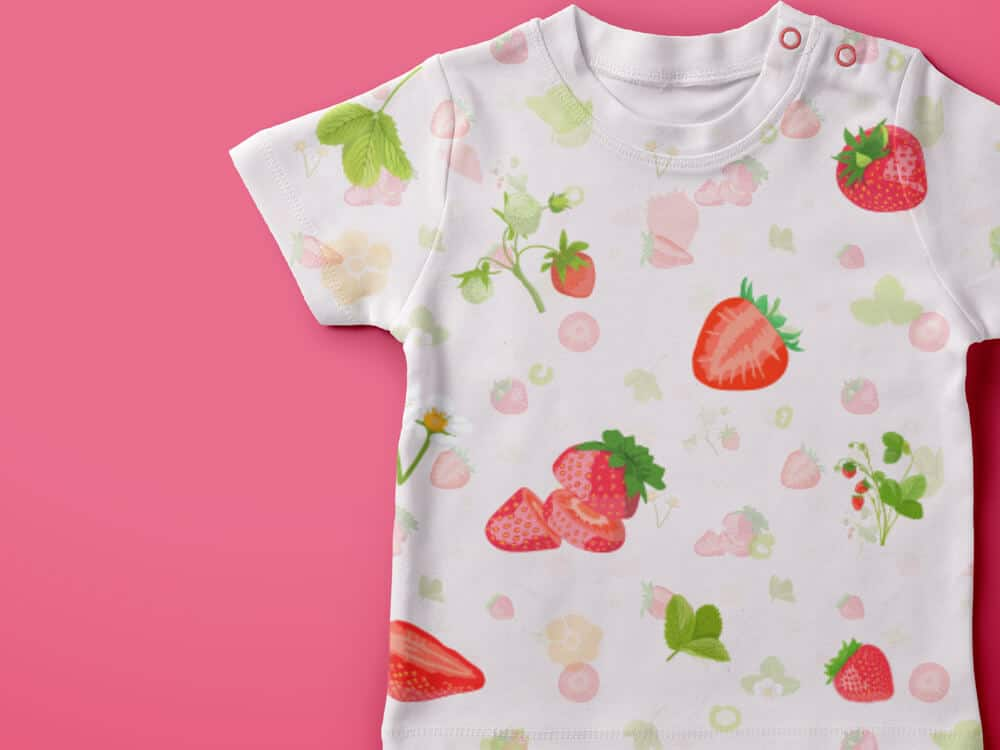 Vector Fruits Patterns Pack