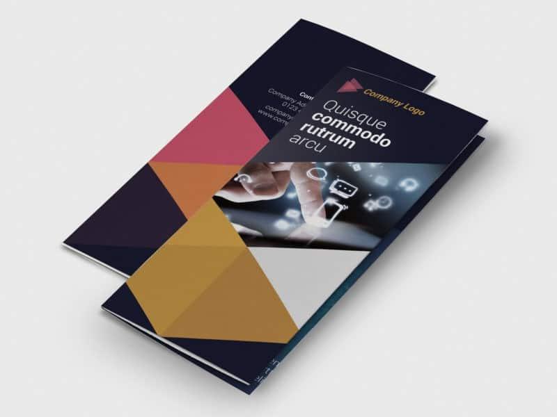 Tri-fold IT Technology Flyer Template